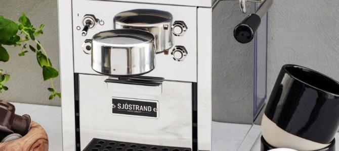 Köp en stilren espressomaskin med gott samvete!